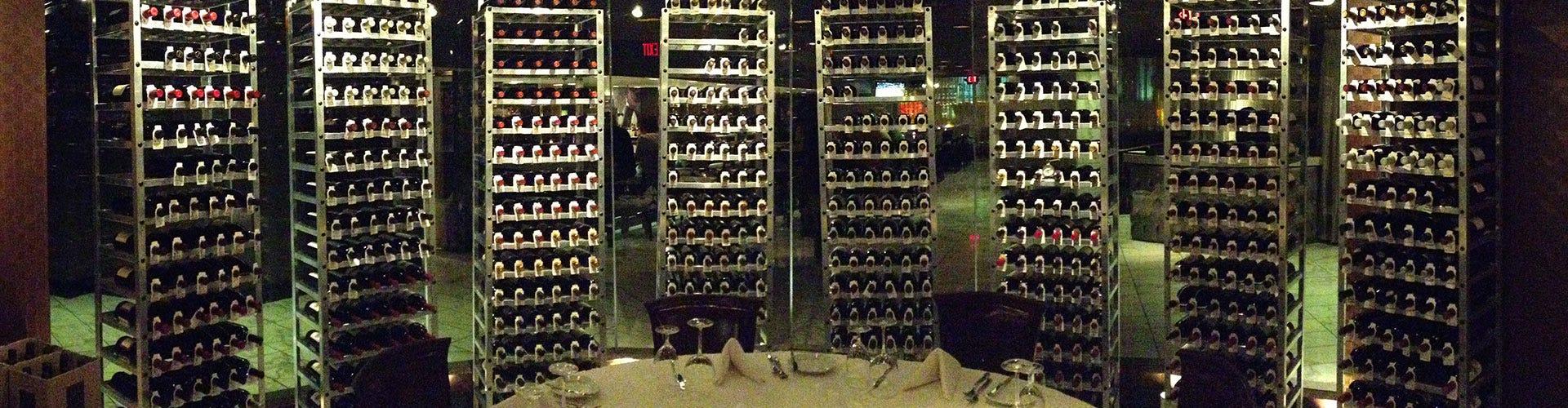 Aluminum Retail Wine Racks