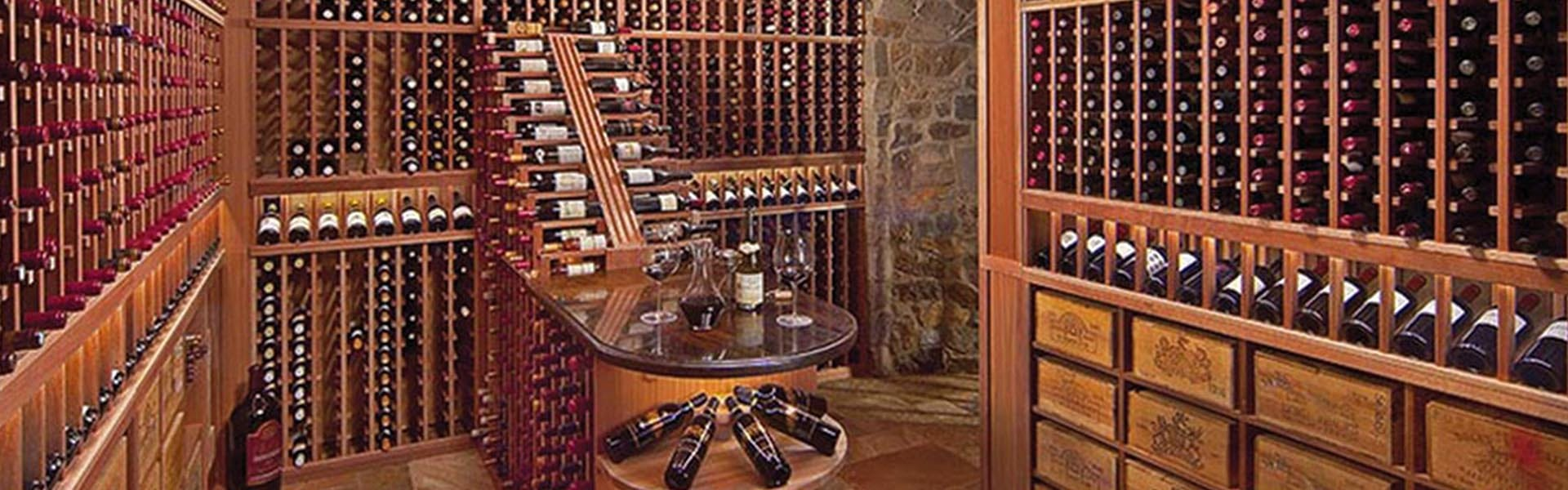 Residential Wine Cellar Design