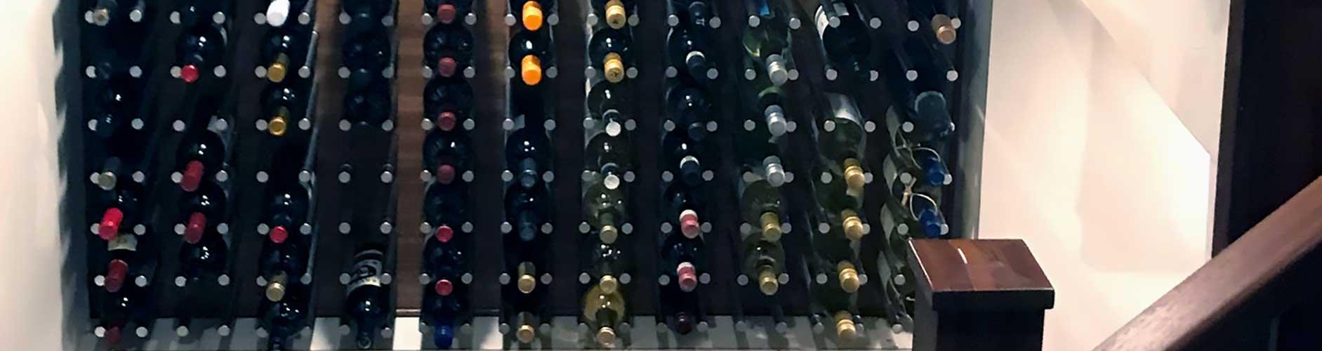 Wood Hanging Wine Racks