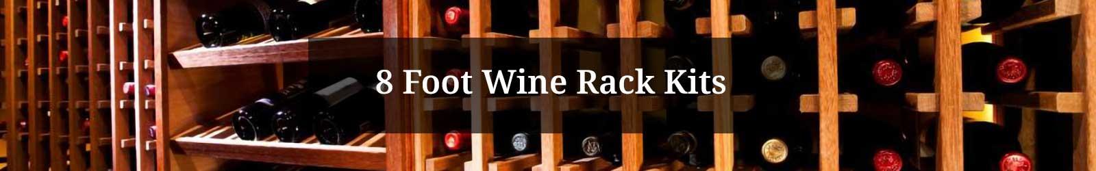 8 Foot Wine Rack Kits