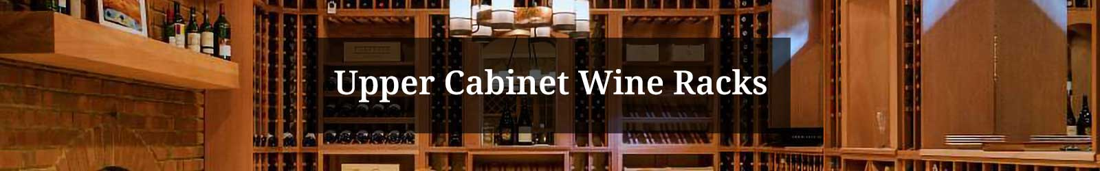 Upper Cabinet Wine Racks