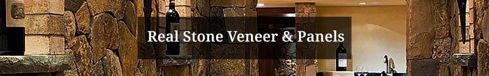 Real Stone Veneer and Panels