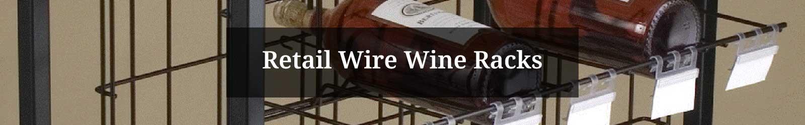Retail Wire Wine Racks