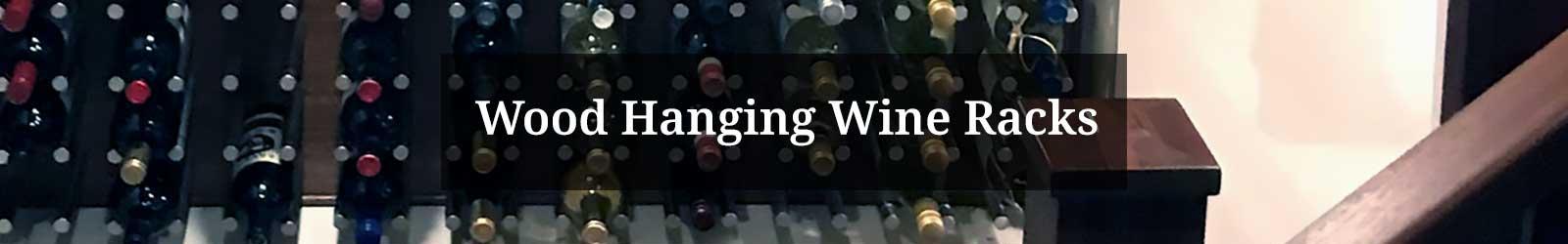 Wooden Hanging Wine Racks