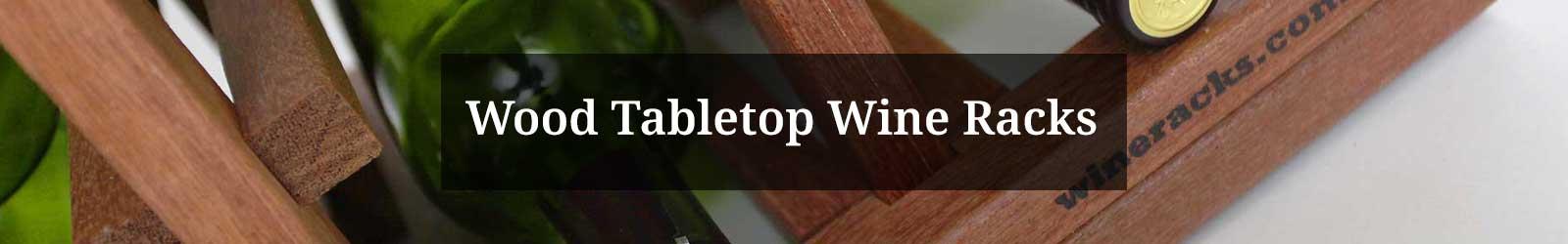Tabletop Wine Racks