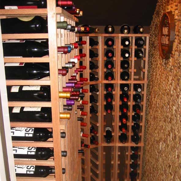 small space wine storage ideas