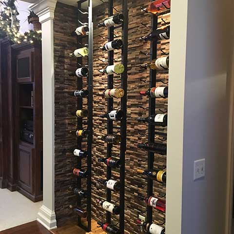 Wine storage in small spaces