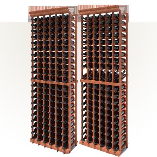7 foot wine rack kits