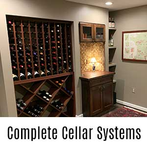 Complete Wine Cellar Systems
