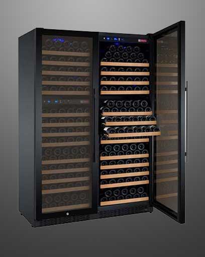 Flexcount 3 Zone 349 Bottle Wine Fridge