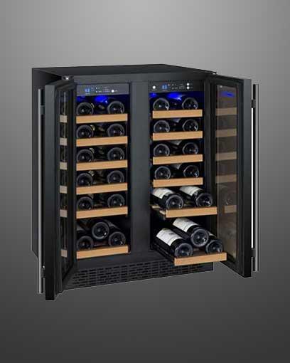 Allavino 3 Zone Side by Side Wine Fridge
