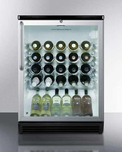Summit 36 Bottle Under Counter Wine Cooler