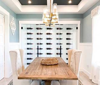 Diningroom Wine Wall