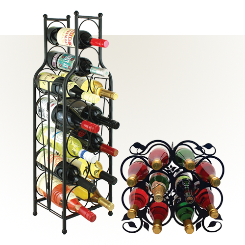 Countertop Metal Wine Racks