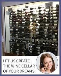 Metal Wine Cellar Design