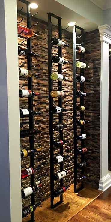 Modern Metal Wine Racks