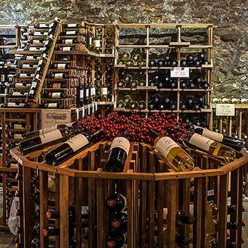 Retail Wine Rack Displays