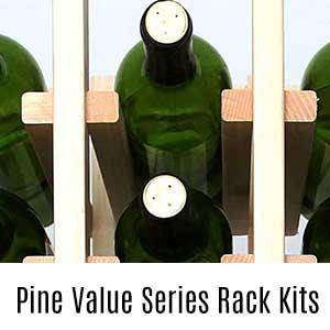 Pine Value Wine Rack Kits