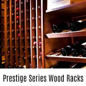Prestige Series Wood Wine Racks