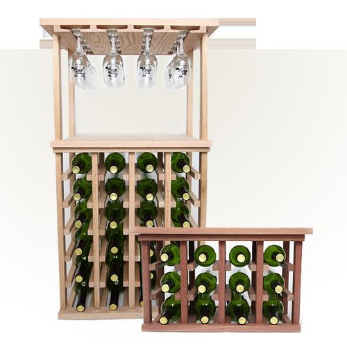 Tabletop Wood Wine Racks