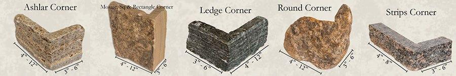 stone veneer corners