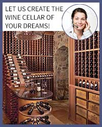 Free wood cellar design