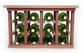 Wood Tabletop Wine Racks